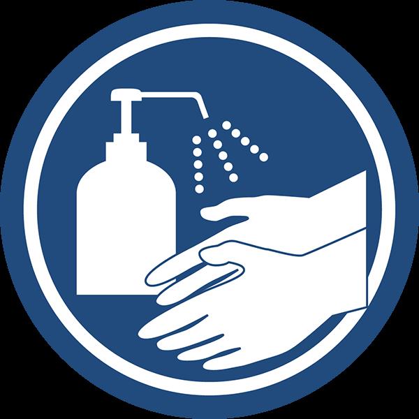 消毒用エタノールの代替品として、手指消毒に使用することが可能です