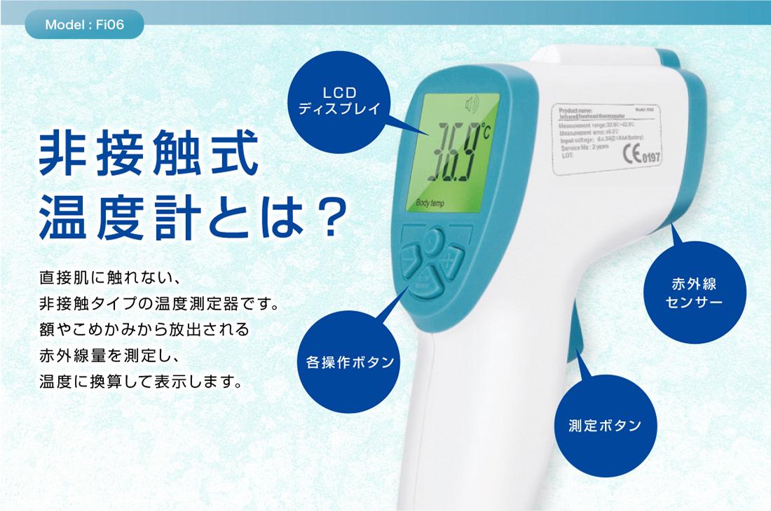 非接触式温度計