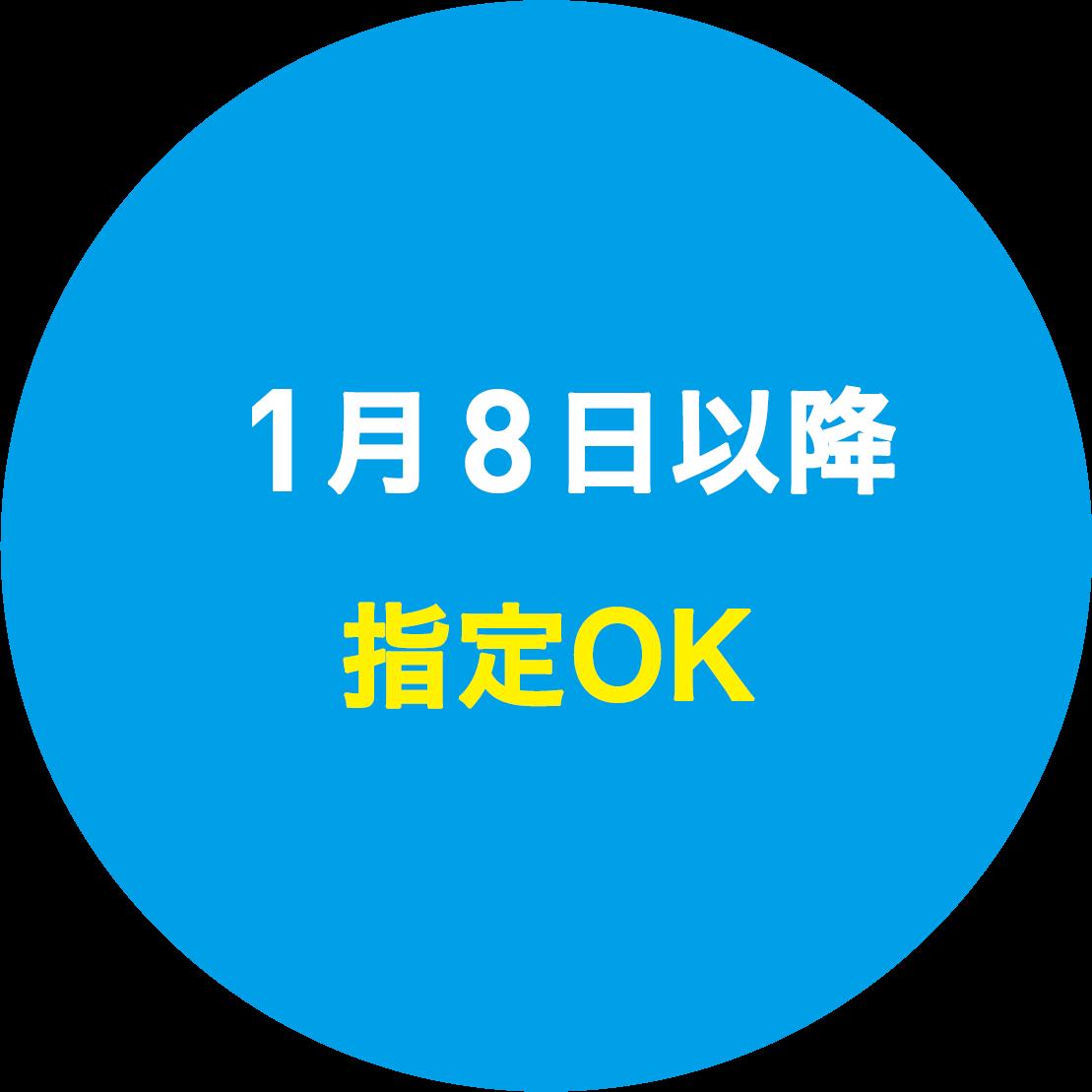 12月15日以降納期指定OK