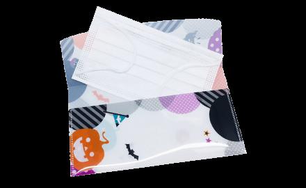 日本製 抗菌マスクケース ファイルタイプ(3枚入り)