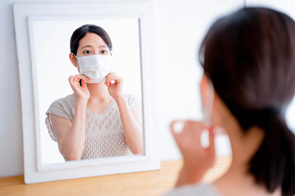 マスクの正しい着用方法