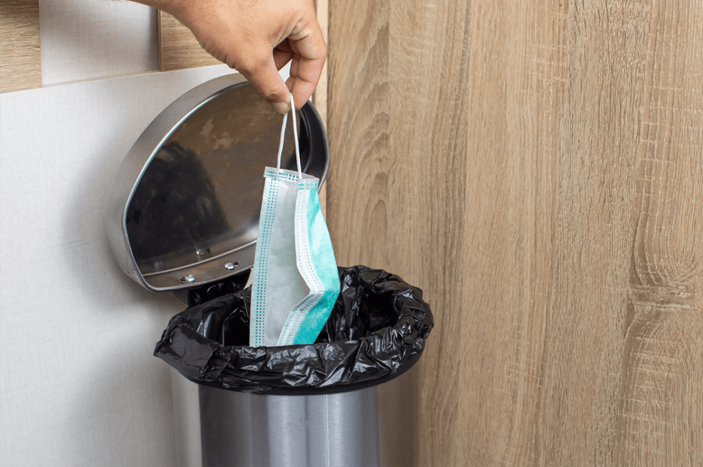 マスクを捨てる時はどんなことに注意すべき?