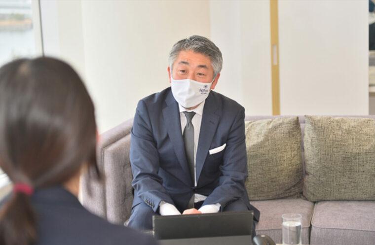 ヒルトン東京お台場営業部長 藤本様