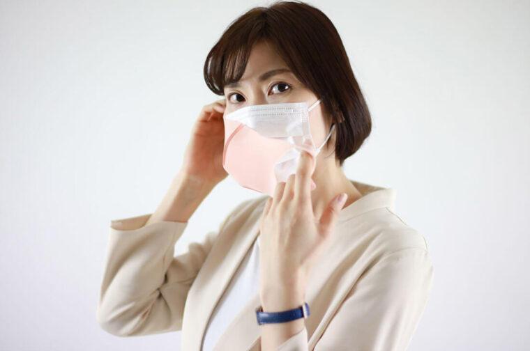 布マスクと不織布マスクの重ね付けは「マスクを顔にフィットさせること」が重要